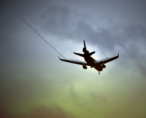 Airport noise and flight track monitoring