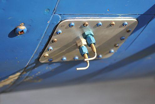Air sample tubes at NLR Cessna Citation