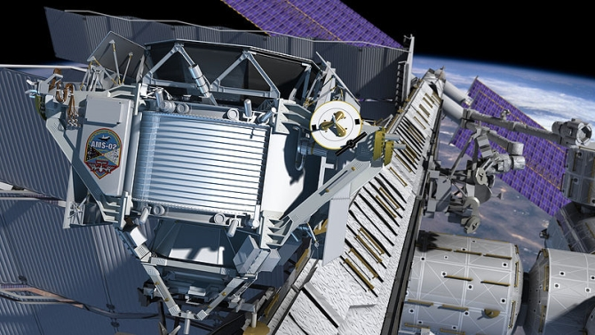 The Alpha Magnetic Spectrometer on the ISS