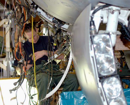 Aerospace maintenance industrie