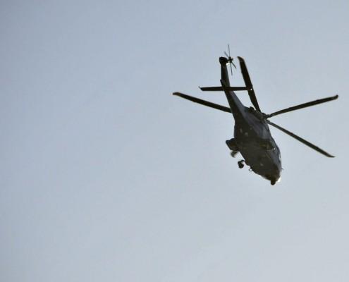 AgustaWestland police helicopter