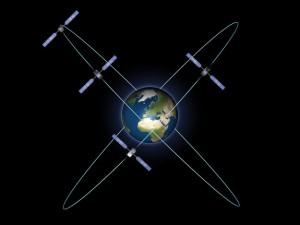 Galileo satellieten 'in orbit'