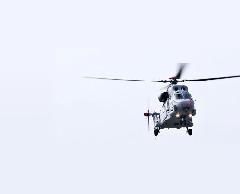 First Flight of Surion Amphibious version - Photo by KAI