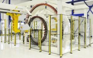 Eén van de grootste vlechtmachine voor composiet vezels in Europa