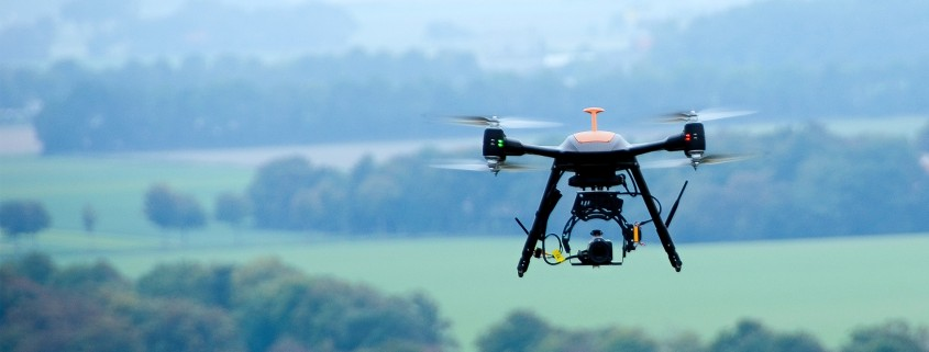 Professional RPAS drone operations