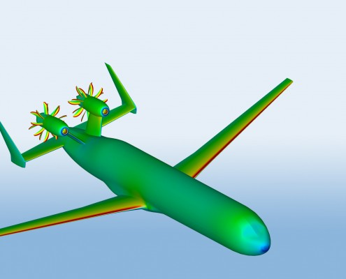 CFD gas turbine performance and design