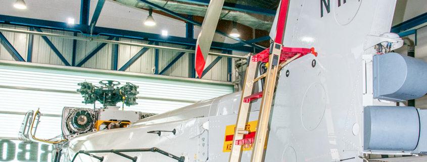 NH90 3D printed ladder bracket