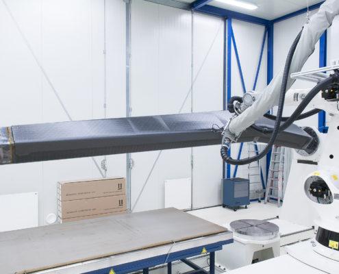 NLR ontwerpt groot composieten vliegtuigonderdeel