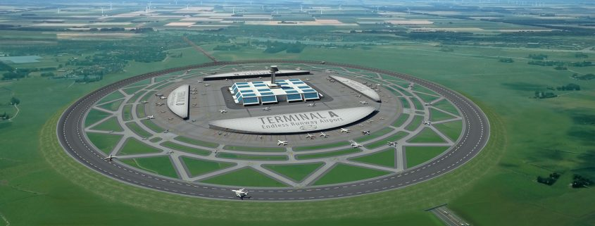 The Endless Runway - compacte luchthaven lay-out