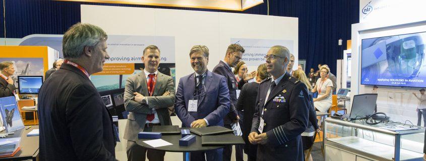 TNO en NLR onderzoeken mogelijkheid simulatie-netwerk voor militaire training