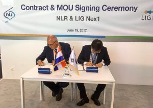 Onderteking intentieverklaring LIG Next1 en NLR