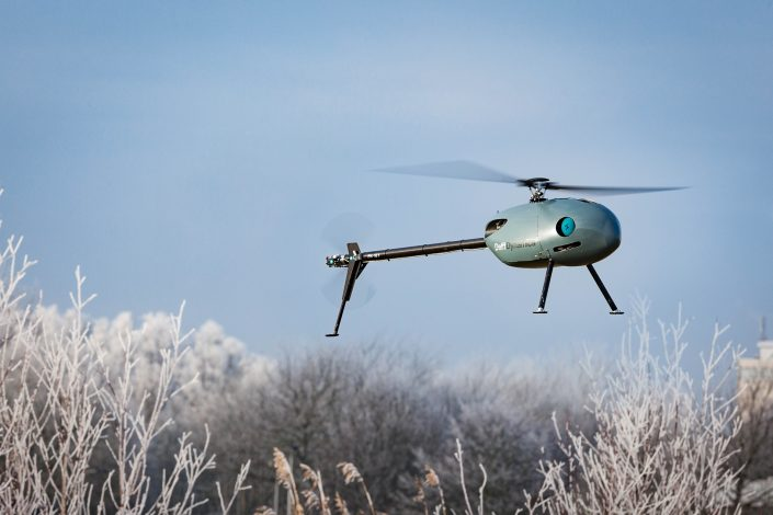 ©DelftDynamics - Onbemande RH3 'Swift'-helikopter