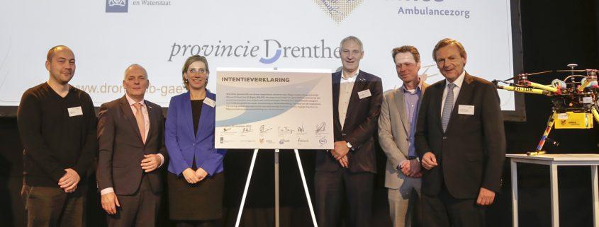 NLR ondertekent overeenkomst voor uniek drone-experiment