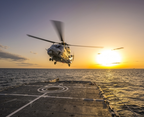 NLR method contributes to cost-effective deployment of Norwegian navy helicopter