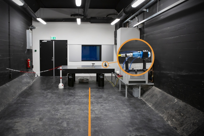 NLR - High Energy Laser (HEL)-lab