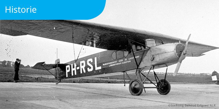 NLR Fokker F.II testvliegtuig