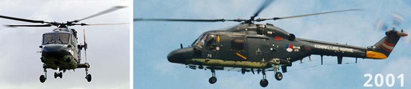 Levensduurverlenging van Westland Lynx helikopter