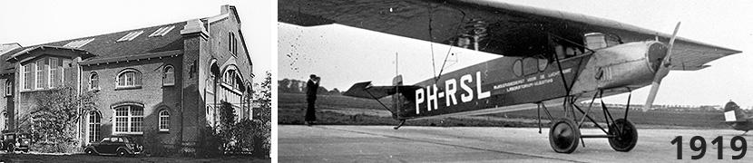 RSL gebouw Marinewerf - Fokker F.II