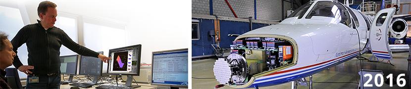Voorbereiding testvlucht NLR Citation tbv TEMO