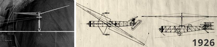 Von Baumhauer helikopter – 1926
