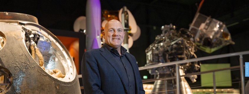 André Kuipers at Space Expo